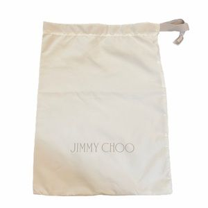Authentic Jimmy Choo Shoe Clutch Dustbag